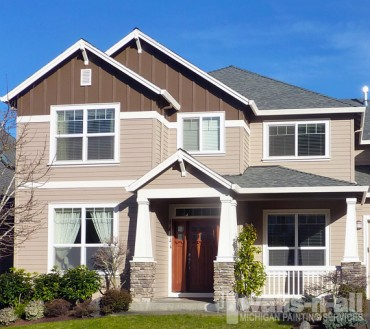 Exterior Home Painting MI