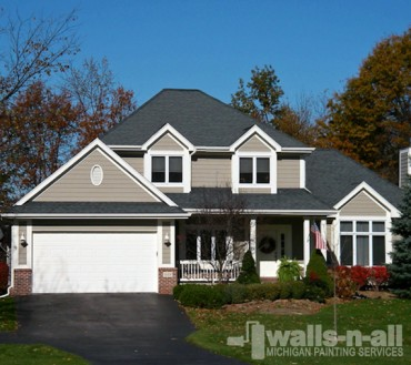 Exterior Painting Troy Michigan