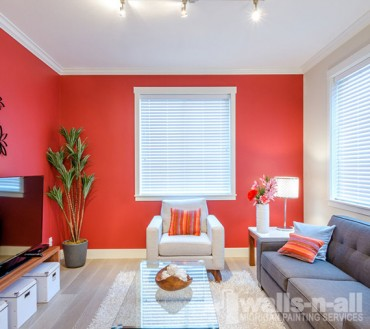 Example of interior painting in Rochester, MI